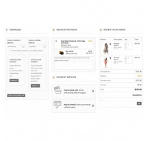 Módulo Responsive One Page Checkout - Prestashop